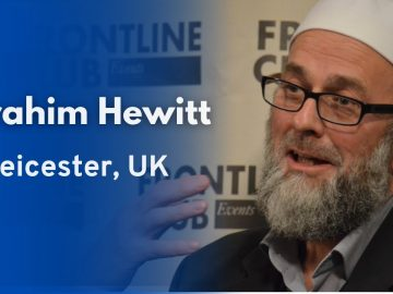 Finding Islam During the South African Apartheid - Ibrahim Hewitt