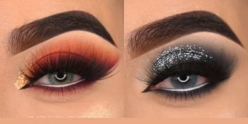 12 Glamorous Eye Makeup Tutorials And ideas For Your Eye Shape | Simple Eye Makeup