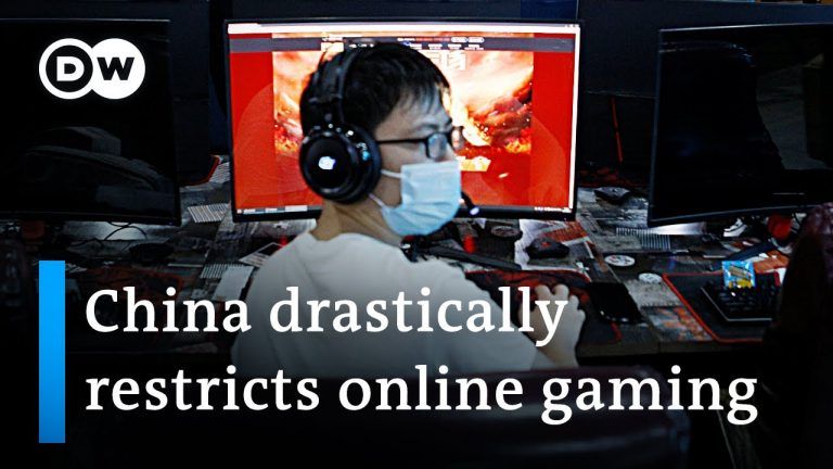 China restricts online gaming to 3 hours per week | DW News