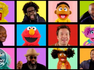 Sesame Street, Jimmy Fallon and The Roots Sing Count Me In | The Tonight Show Starring Jimmy Fallon