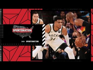 Game 1 reaction: Chris Paul drops 32 in NBA Finals debut and Giannis' chasedown block | SportsNation