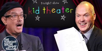 Kid Theater with Tom Hanks and Michael Keaton   The Tonight Show Starring Jimmy Fallon
