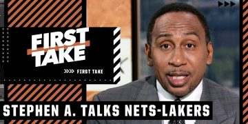 Stephen A. would take the Nets over the Lakers in a Finals matchup | First Take
