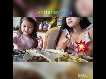 Mukbang Mother and daughter in Germany