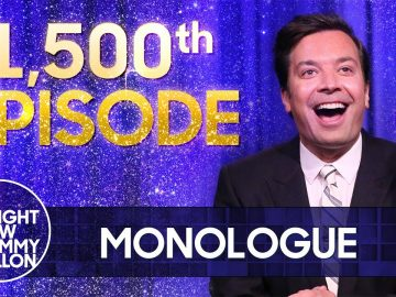 1,500th Tonight Show Ep. - Heat Wave Hits U.S., Census Shows Decline in White People | Tonight Show