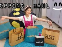 Shopping Haul || Loose Fit Jeans & Tops for Skinny Girls 8