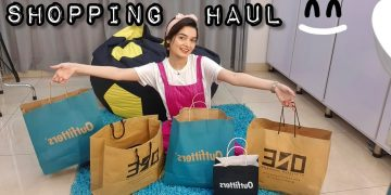 Shopping Haul || Loose Fit Jeans & Tops for Skinny Girls 4