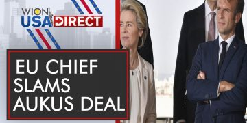 WION-USA Direct: Foreign ministers of the EU bloc to discuss Aukus deal| Latest English News | World