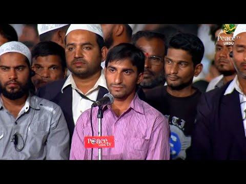 This confused young man also confused Dr. Zakir Naik