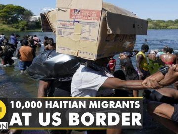 More than 10,000 undocumented migrants reach US from Haiti | Latest World English News | WION