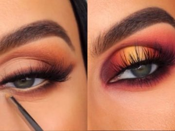15 Gorgeous Eye Makeup Tutorials & ideas For Your Eye Shape : Elsie Mike