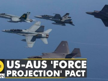 After submarine deal, US Air Force to be stationed in Australia | WION News | Latest English News
