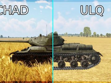 ULTRA LOW QUALITY Gives AN EXTREME ADVANTAGE.. FULL STOP.