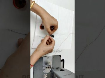 👌Easy trick for Using Anchor thread 8