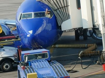 Sweet moment from Southwest Airlines 5
