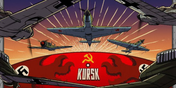Battle of Kursk from the Aerial Perspective | Animated History 15