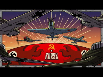 Battle of Kursk from the Aerial Perspective | Animated History 7