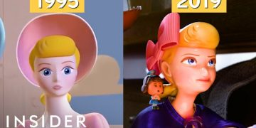 How Pixar's Animation Has Evolved Over 24 Years, From 'Toy Story' To 'Toy Story 4' | Movies Insider 1