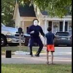 Micheal Myers just be vibin! 3