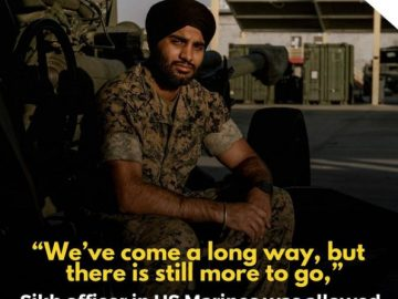 Sikh Officer in US Marines 7