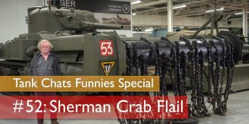Tank Chats #52 Sherman Crab Flail | The Funnies | The Tank Museum 10