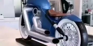 Chocolate Motorcycle! 1