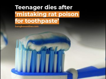 Teenager dies after ' mistaking rat poison for toothpaste' 11