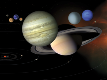 Gas Giants May Have Bullied Planet 9 to the Fringes of Our Solar System 16