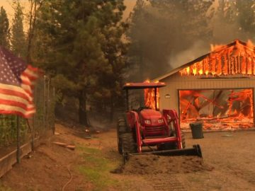 Dixie Fire continues raging in northern California