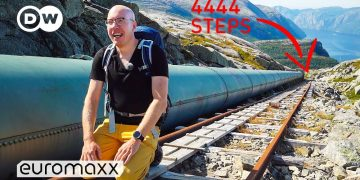 Hiking Up One Of The Highest Wooden Staircases In The World | Axel On The Edge Ep. 01