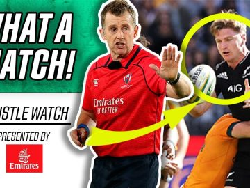 Nigel Owens Reacts to New Zealand vs. Australia's BIGGEST Decisions! | Whistle Watch!