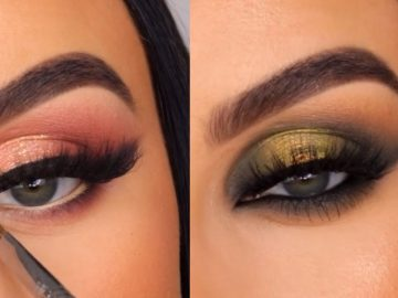 14 Gorgeous Eye Makeup Tutorials & ideas For Your Eye Shape : Elsie Mike