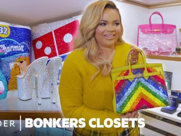 Blinged-Out Birkins, Toilet Paper, And Stripper Heels In Trisha Paytas' $500K Closet