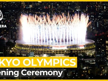 Tokyo Olympics officially begin under spectre of pandemic