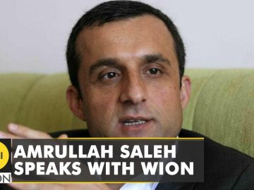 Former Vice President of Afghanistan Amrullah Saleh speaks with WION |Exclusive |Latest English News