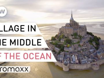 The French Village That Sits Right In The Ocean - Mont-Saint-Michel