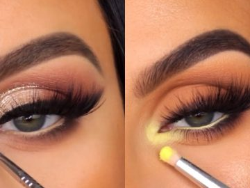 15 Glamorous Eye Makeup Tutorials And ideas For Your Eye Shape   Simple Eye Makeup