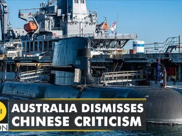 Australia shrugs off Chinese anger on submarine deal | WION Latest News | English News