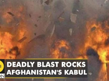 At least five people killed in blast in Afghanistan's Kabul | Eid Gah Mosque | English News