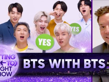 Behind The Scenes with BTS | The (Getting Back to) Tonight Show - Ep. 8