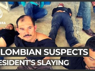 Haiti police blame US, Colombian suspects in president's slaying