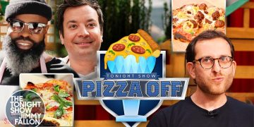 First Annual Tonight Show Pizza-Off with Scott Wiener | The Tonight Show Starring Jimmy Fallon