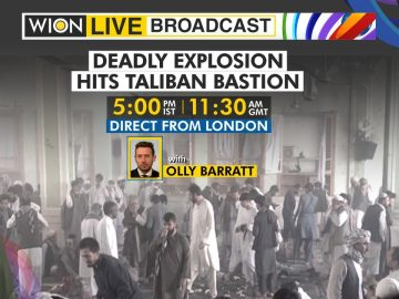 WION Live Broadcast   Deadly explosion hits Taliban bastion   Blast at a mosque in Kandahar