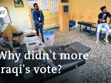 Iraqi election marred by record low voter turnout of 41% | DW News