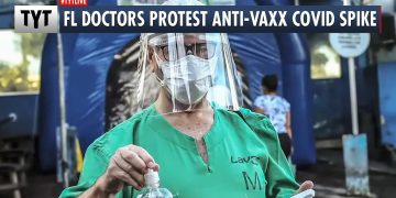 Doctors Stage Walkout Against The Unvaccinated