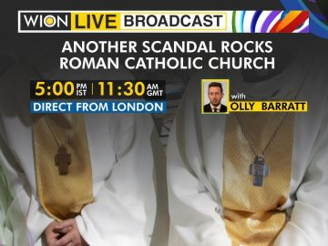 WION Live Broadcast | Another scandal rocks Roman Catholic Church | Direct from London | World News