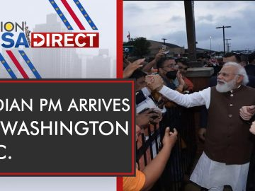 Indian Prime Minister Narendra Modi arrives in United States | WION USA Direct | Latest English News