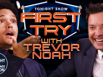 First Try with Trevor Noah | The Tonight Show Starring Jimmy Fallon