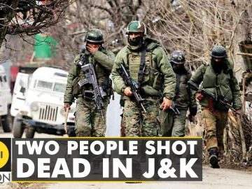 Two non-local civilians killed in Jammu and Kashmir today | WION Latest News | English News