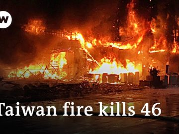 At least 46 killed in Taiwan residential building blaze | DW News